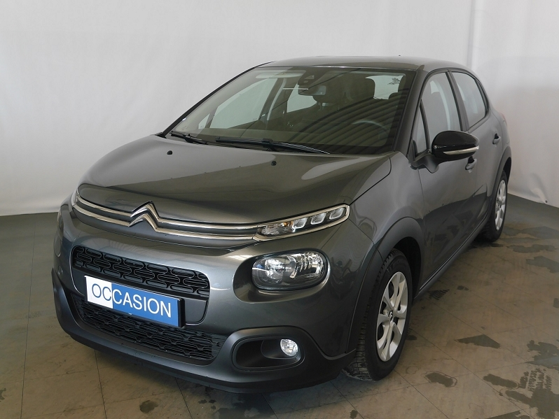 Citroen C3 BLUEHDI 75CH FEEL S&S Diesel GRIS SHARK Occasion à vendre
