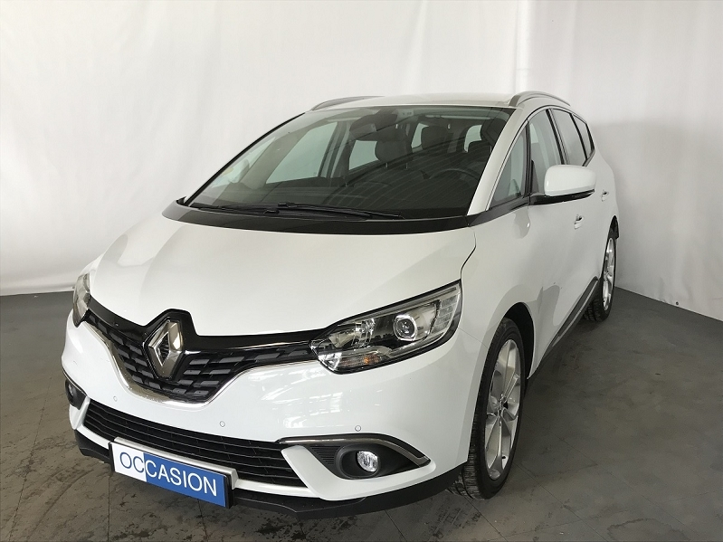 Renault GRAND SCENIC IV 1.5 DCI 110CH ENERGY BUSINESS 7 PLACES Diesel BLANC Occasion à vendre