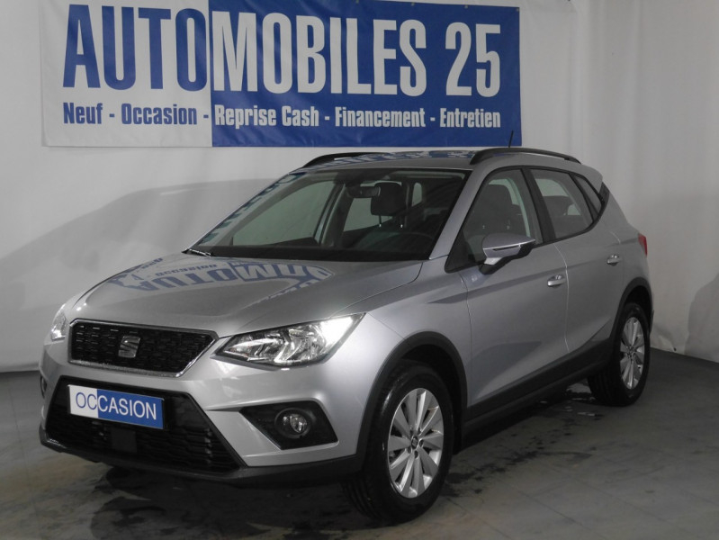Seat ARONA 1.0 ECOTSI 115CH START/STOP STYLE DSG EURO6D-T Essence GRIS URBAIN Occasion à vendre