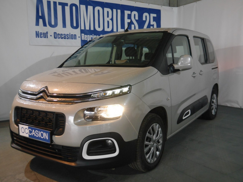 Photo 1 de l'offre de CITROEN BERLINGO M BLUEHDI 100CH S&S FEEL à 18590€ chez Automobiles 25