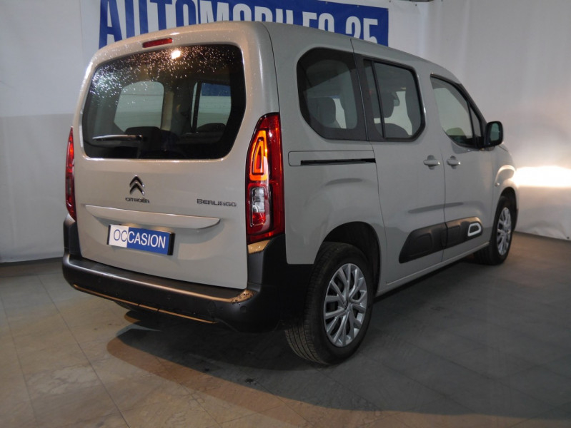 Photo 2 de l'offre de CITROEN BERLINGO M BLUEHDI 100CH S&S FEEL à 18590€ chez Automobiles 25