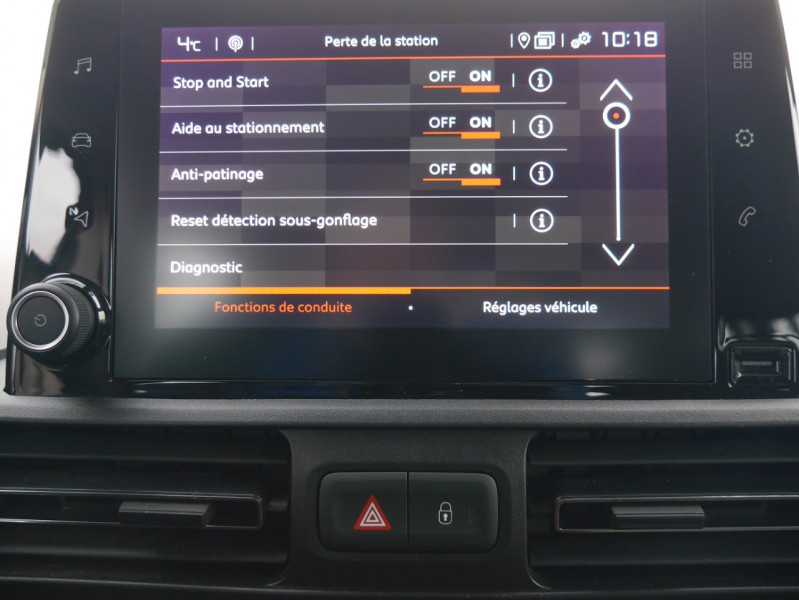 Photo 12 de l'offre de CITROEN BERLINGO M BLUEHDI 100CH S&S FEEL à 18590€ chez Automobiles 25